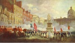 Francis Wheatley, The Muster of the Irish Volunteers in College Green on the 4th of November, 1779.