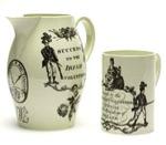 Volunteer jug and mug.