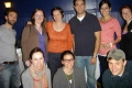 Graduate students and recent PhD at UM/UNB Graduate Student Conference 2012 (Back row. left to right: Lee Cilli, Katherine O'Flaherty, Rebecca White, Greg Rogers, Sarah Angell, and Lisa Rude. Front Row, left to right: Rachel Snell, Annie Morrisette, Joseph Miller.