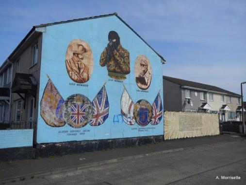 The Shankill UVF Mural