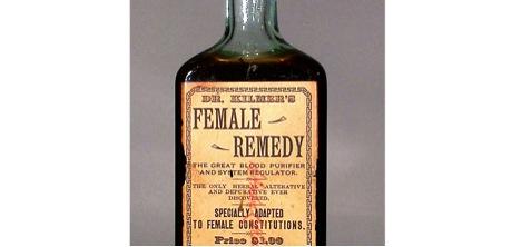 Dr. Kilmer's Female Remedy bottle, Dr. Kilmer and Co.