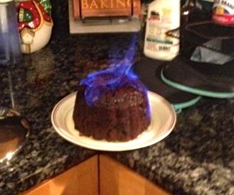 Laura secord christmas pudding