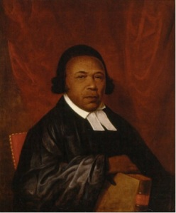 Absalom Jones, a former slave who later became a minister, recounted both racial discrimination and the horror of the yellow fever epidemic in response to claims that black residents of Philadelphia had not done enough to assist in the public health crisis. Delaware Art Museum.]